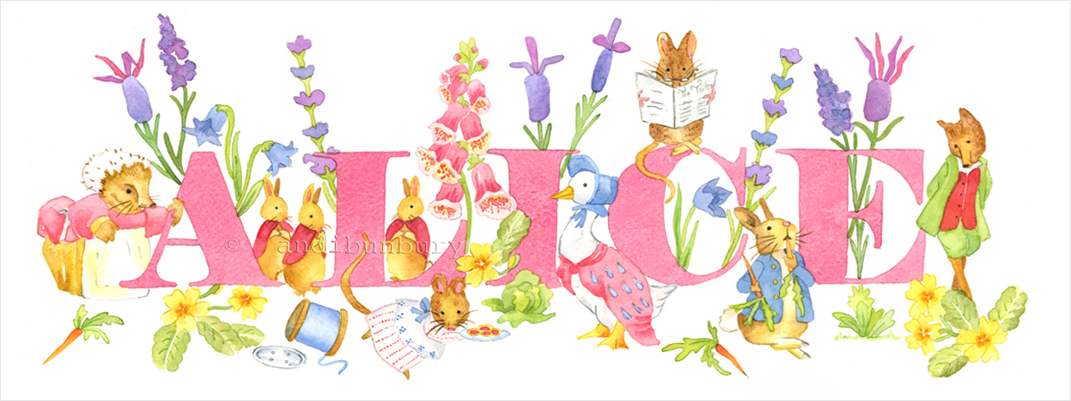 Beatrix Potter Girls Gallery Image
