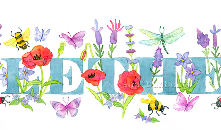 Flowers & Bugs Girls Gallery Main image