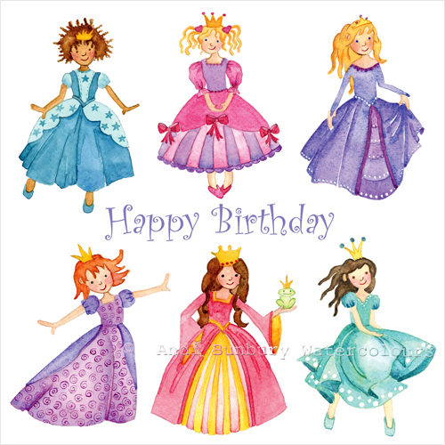 Princesses card