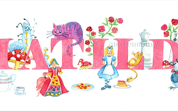 Alice in Wonderland Girls Gallery Main image